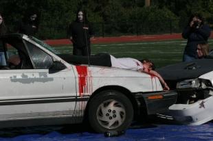 Woodside Car Crash